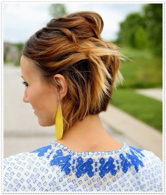 2015 Yazı için 16 Muhteşem Ombre Saç Modeli