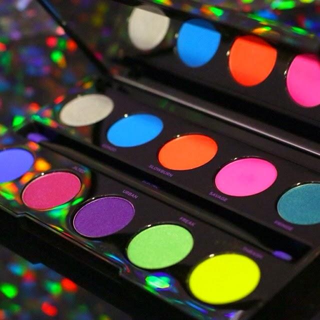 urban decay cosmetics electric pressed pigment palette. new urban decay electric pressed pigment palette cosmetics