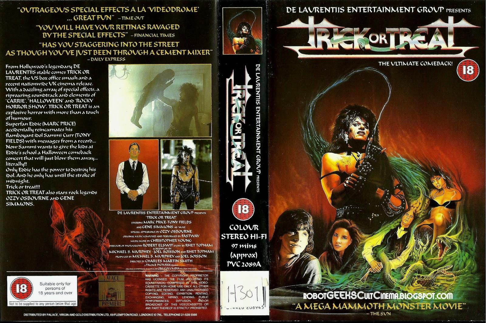 robotgeeks cult cinema trick or treat uk vhs cover