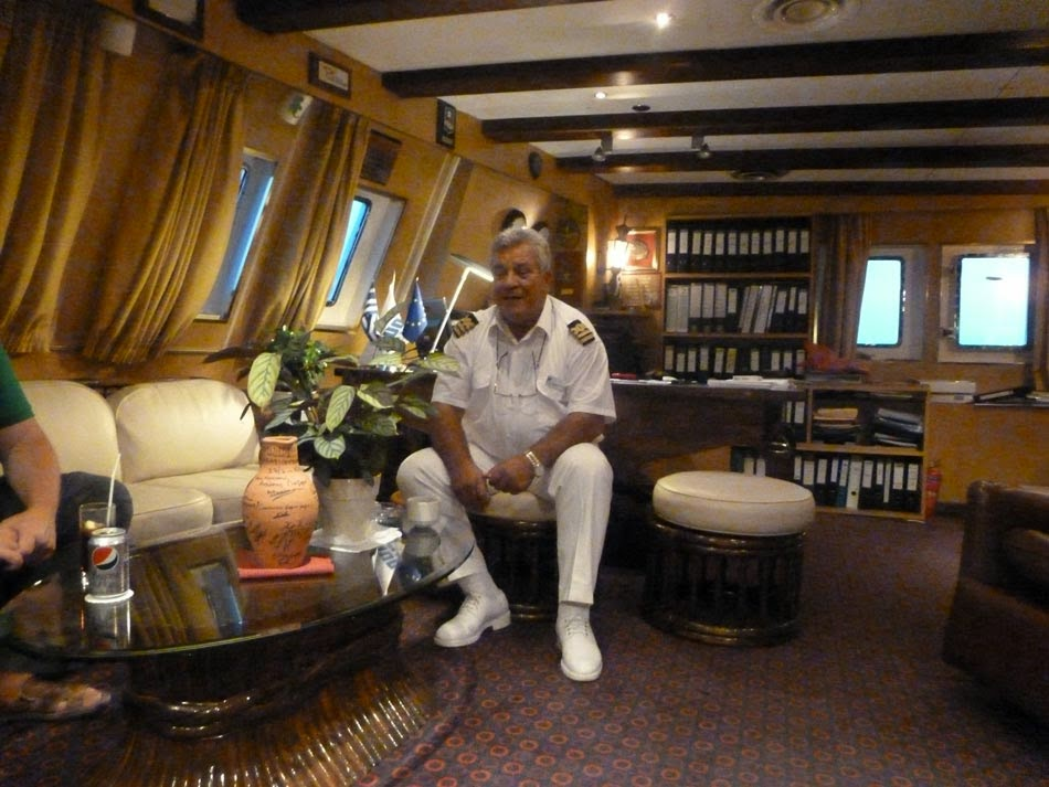 Cruise Ship Captain Cabin