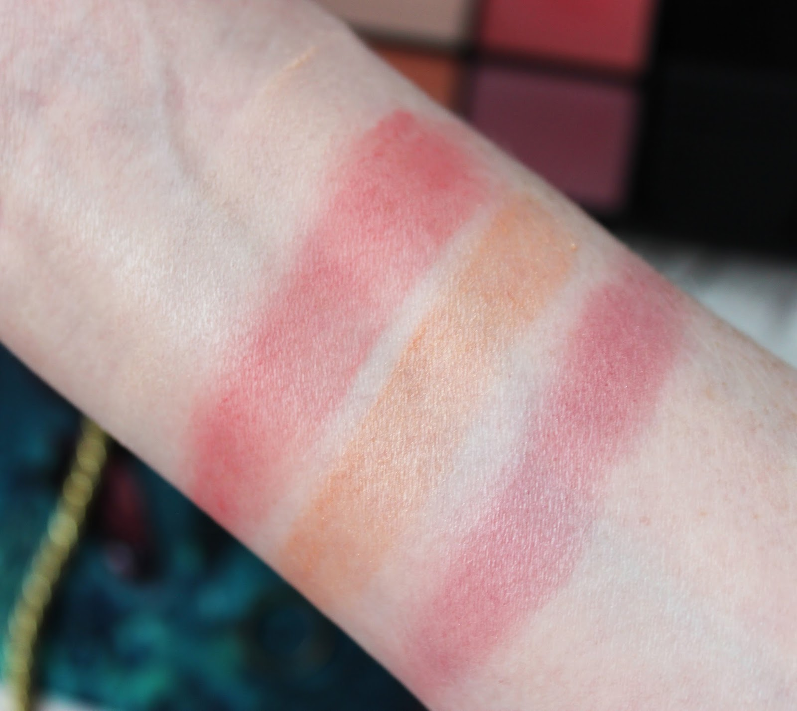 NARS Steven Klein Despair palette swatches