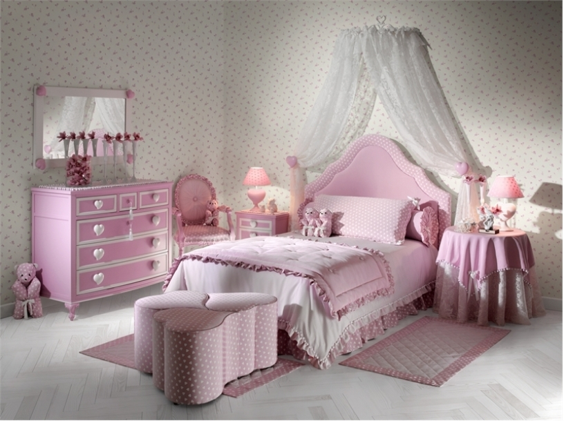 Little girls bedroom little girls bedroom ideas - Bed for girls room ...