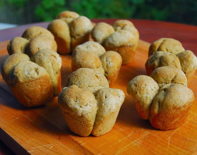 Gluten-free Multigrain Rolls, vegan