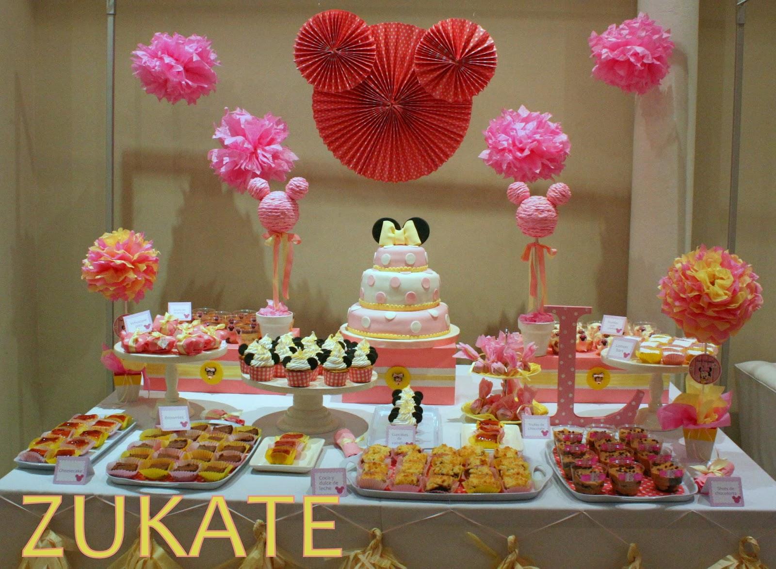 Fiesta de minnie mouse para lucia zukate for Mesas infantiles precios