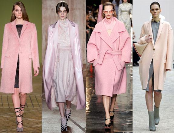 Pink coat A/W 13