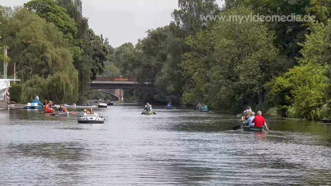 Alster Canal Tour Hamburg