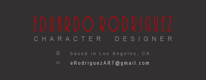 Eduardo Rodriguez_Character Design