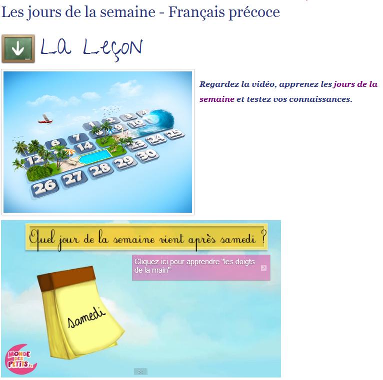 http://www.bonjourdefrance.com/exercices/contenu/les-jours-de-la-semaine.html