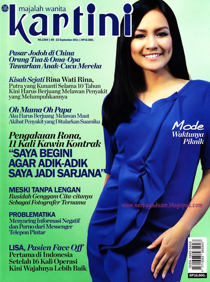 All About Gadis Sampul Intan Nuraini Majalah Kartini