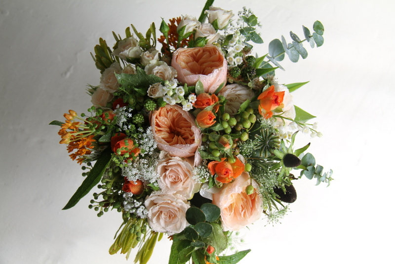 The Flower Magician Autumn Country Style Wedding Bouquet