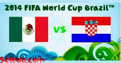 Croacia (eliminada) 1 - 3 México. Grupo A