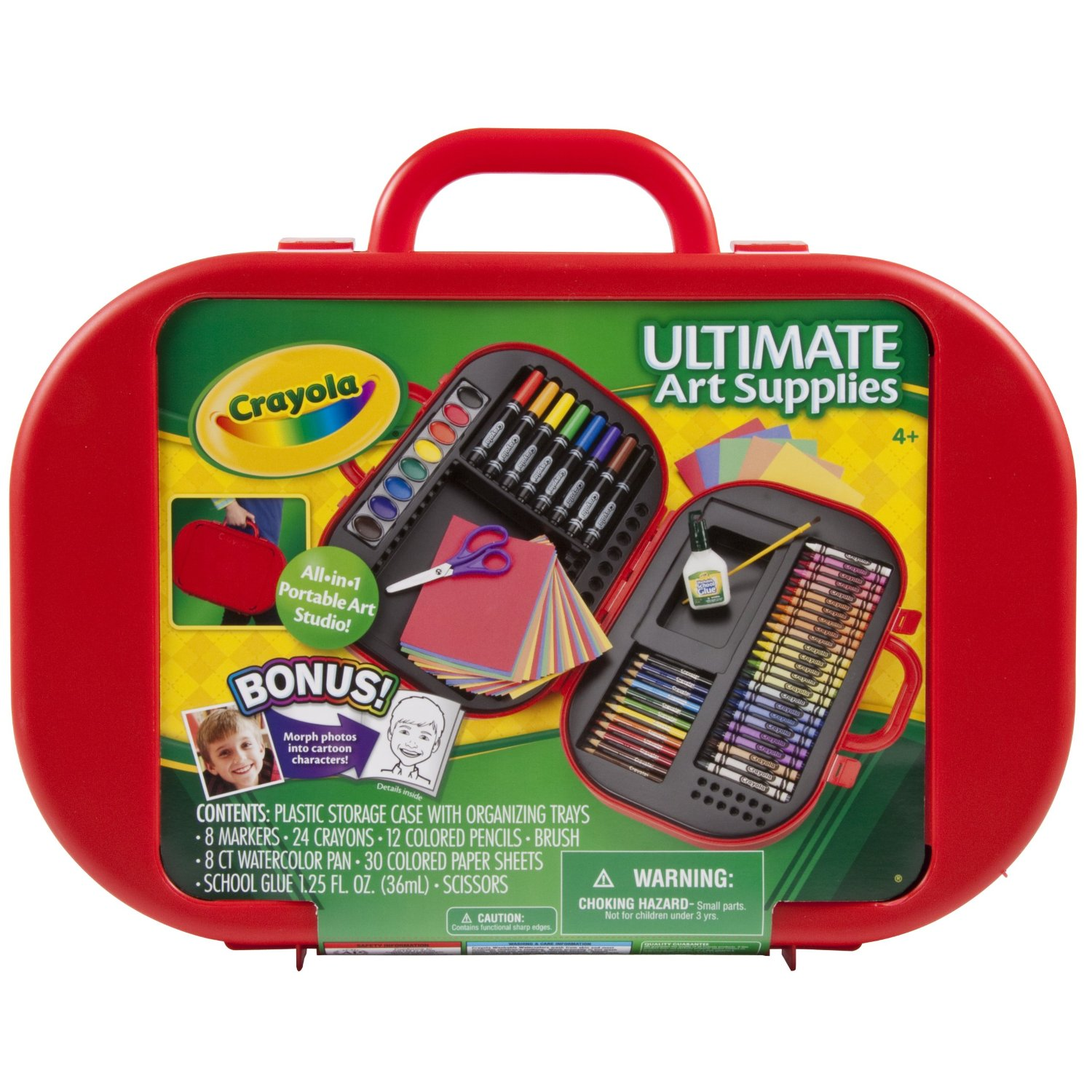 Family, Scrapbooks and Coffee!: Crayola! Just in time for Christmas!!