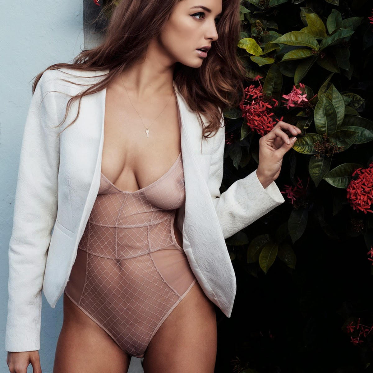 Any case. alyssa arce see through