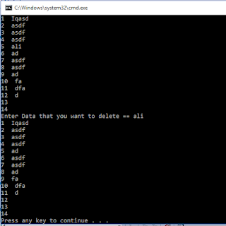 C Plus Plus Program Delete a specific Line from a Text File - cppexamples