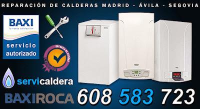 Reparación de Calderas Roca, Baxiroca en Madrid, Ávila y Segovia