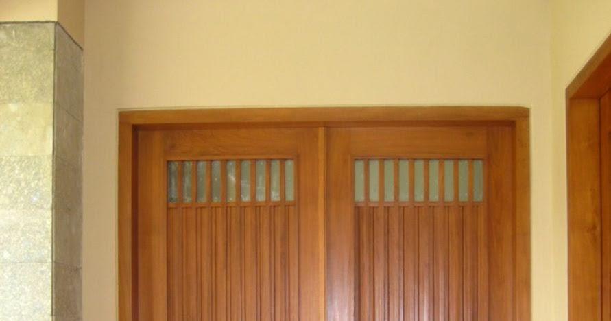 inspirasi cat pintu rumah minimalis populer