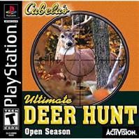 Cabelas Ultimate Deer Hunt   Open Season   PS1