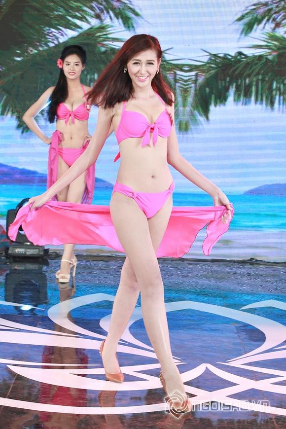 Ảnh gái xinh Hoa hậu miền bắc 2014 với bikini 26