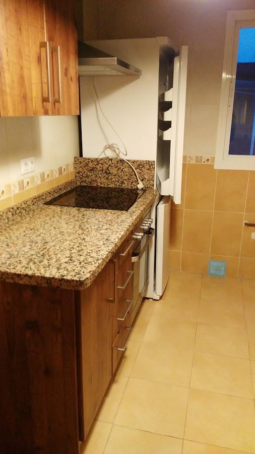 nuevo aire cocina, antes y después, cocina diyambo, diy cocina, diy kitchens