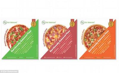 بيتزا صحية ومفيدة