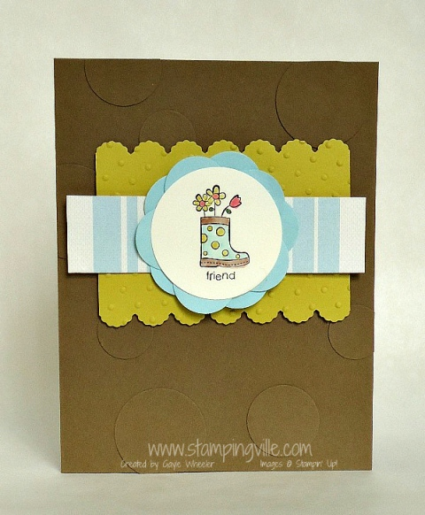 Friend Card - Happy You Stamp Set by Stampin' Up!