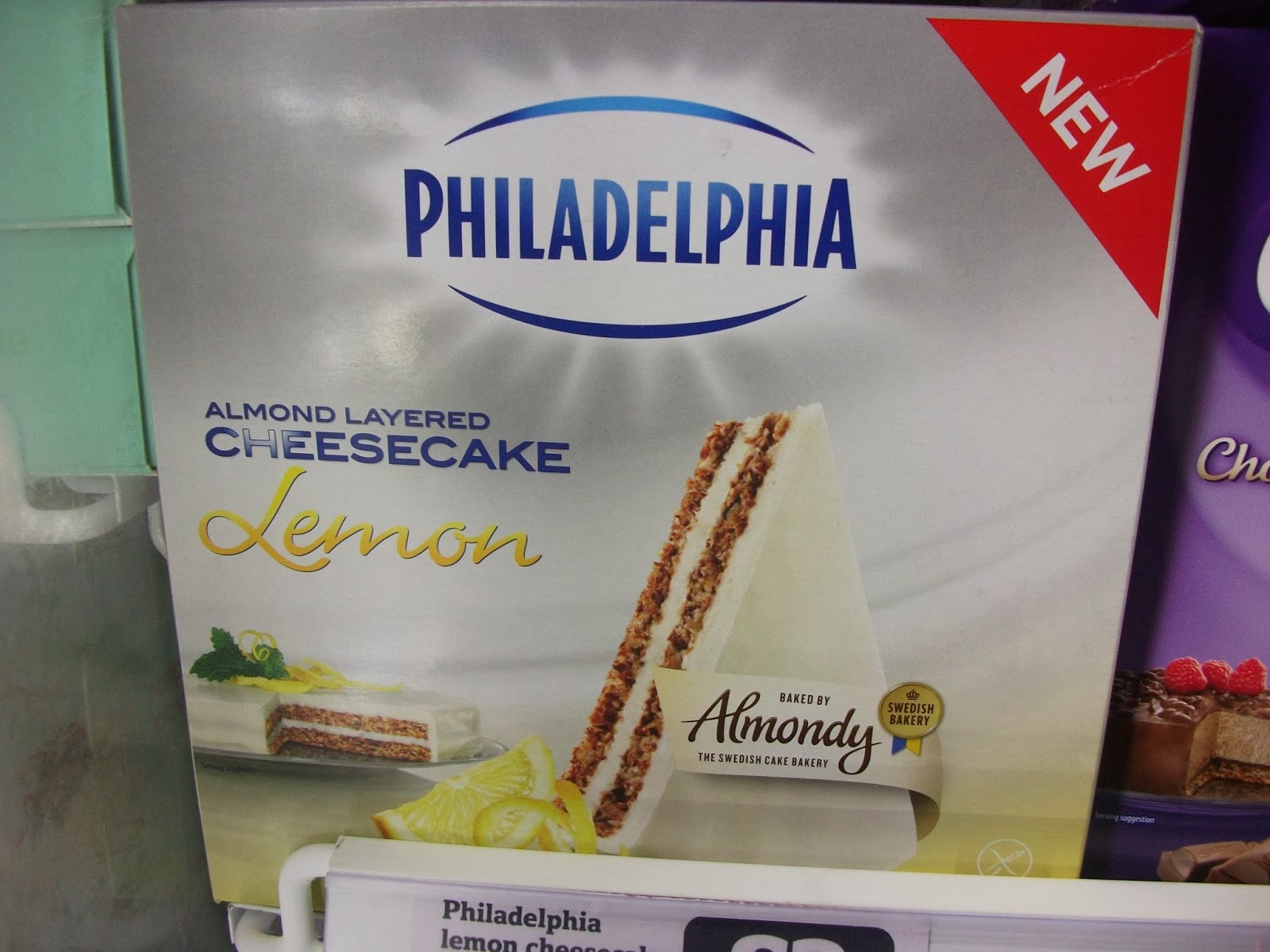 almondy philadelphia almond layered lemon cheesecake