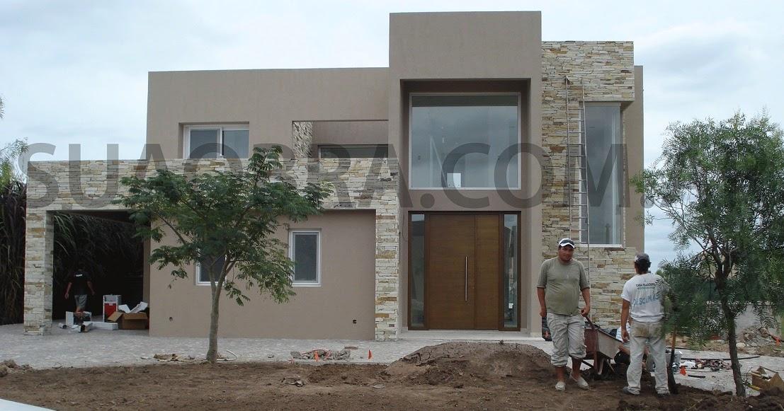 Combinaci n de texturas colocacion profesional tarquini - Revestimiento para paredes exteriores ...