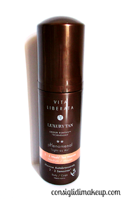 2-3 week tan mousse vita liberata