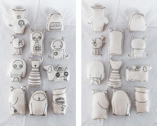 basteldibix stofftiere selbst gestalten diy. Black Bedroom Furniture Sets. Home Design Ideas