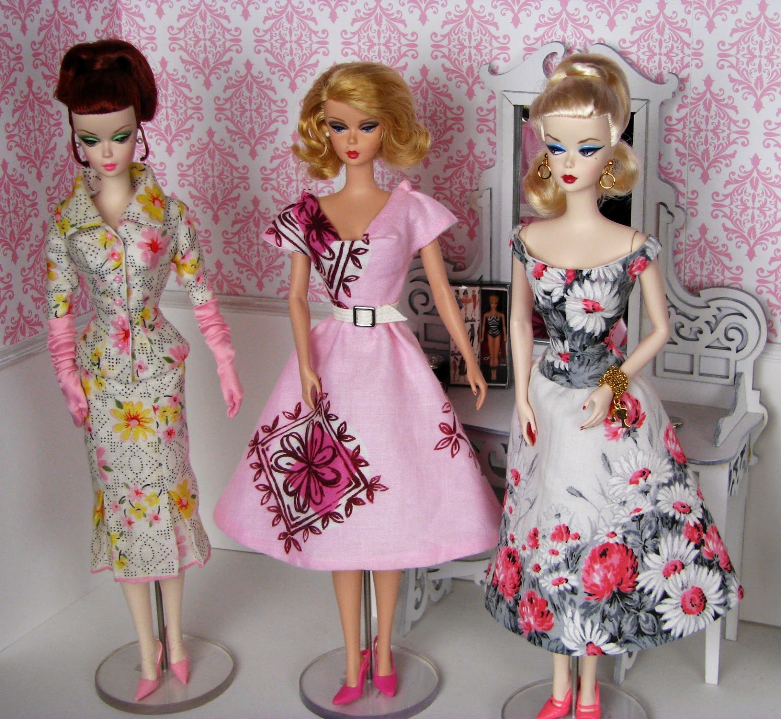 Cheryl StJohn GUEST Sylvia Bittners Stunning Barbie Couture