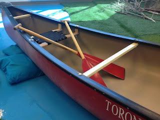 canoe, paddle, Toronto