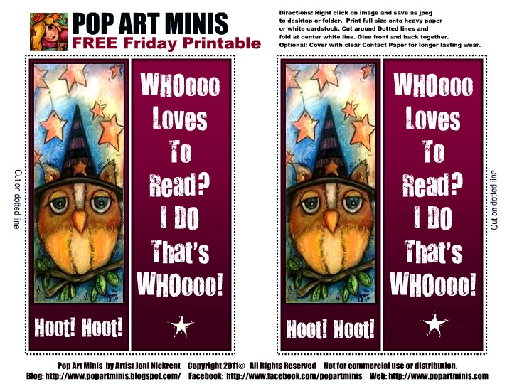 photograph about Free Printable Minis named Pop Artwork Minis: Absolutely free Friday Pop Artwork Mini Printable\
