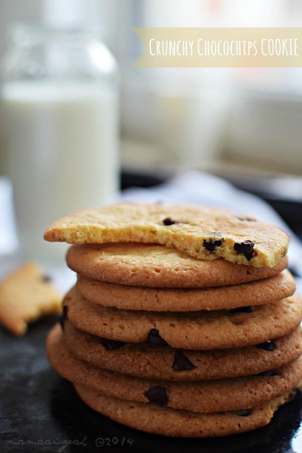 Crunchy Choco Chips Cookies ala Krucils