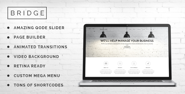 Bridge v1.8 - Creative Multi-Purpose WordPress Theme