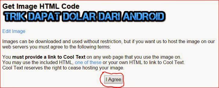 Dapatkan Code HTML
