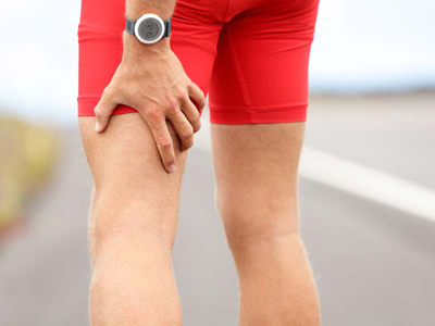 back of thigh muscle pain