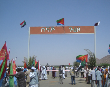 Image result for Eritrea Borders with Sudan