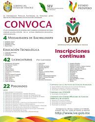 UPAV CONVOCA