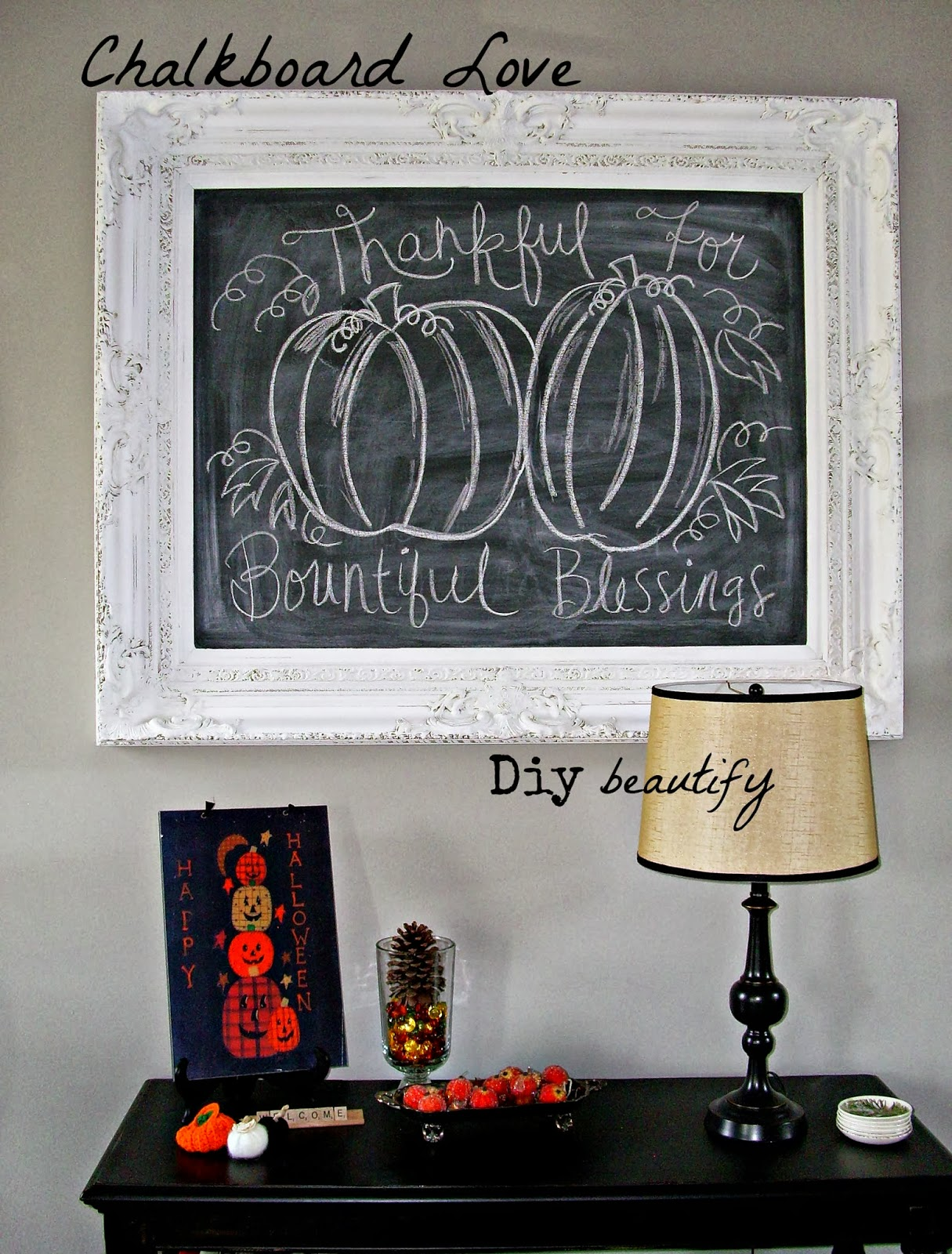 How to Make a Chalkboard From a Cupboard Door & How to Make a Chalkboard From a Cupboard Door | DIY beautify Pezcame.Com