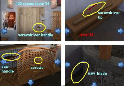 100 rooms level 34