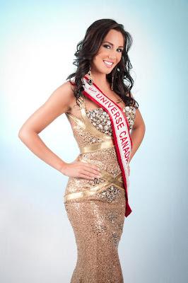 Miss Canada Universe 2011 Chelsae Durocher
