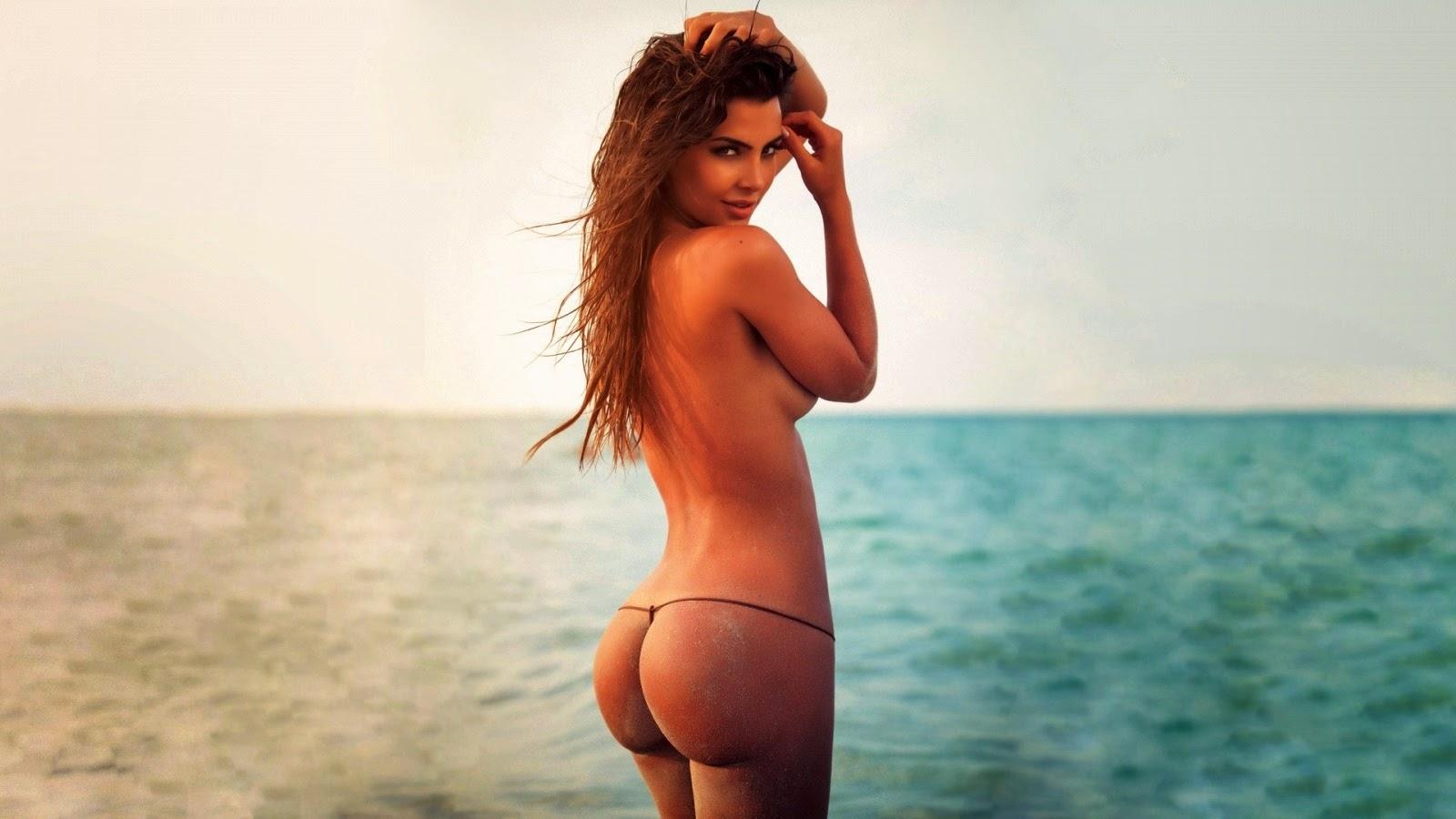 Nude latina shower ass