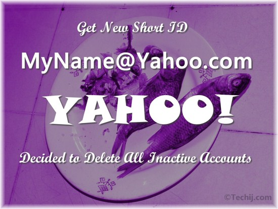 Get a Short Yahoo Email ID