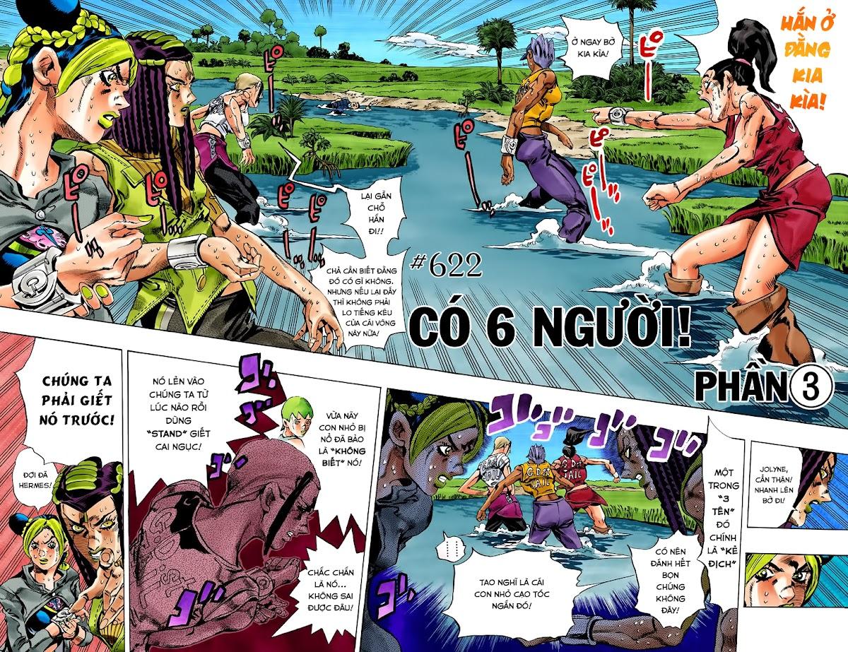JoJo's Bizarre Adventure Chap 622 - Trang 4