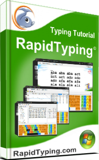 RapidTyping - Touch Typing Tutor v.4.6.5