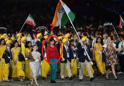 mystery woman appears in olympics ceremony 2012