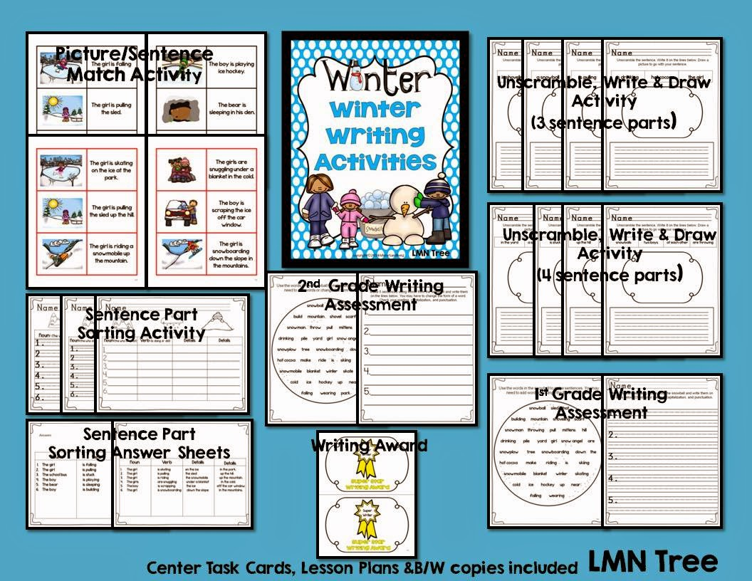 LMN Tree: Winter Writing: Tips, Activities, and Freebies