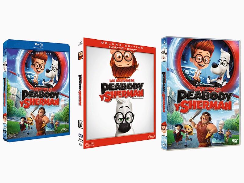 Ya a la venta 'Las aventuras de Peabody y Sherman' en DVD, Blu-ray y Blu-ray 3D