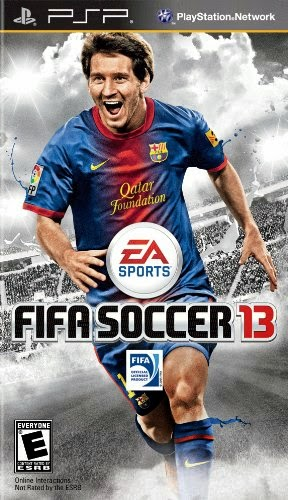 FIFA Soccer 13 For PSP Games http://jembersantri.blogspot.com logo cover screen shot