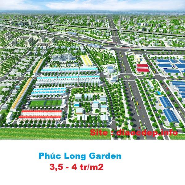 Phối cảnh tổng thể - Phúc Long Garden